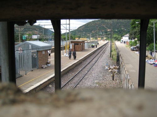 Nothing to do with this week, but pretty cool nonetheless.  Local train stop in Pretoria North.