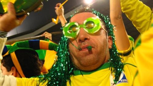 Crazy Brazilian fan.