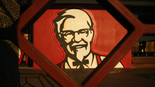 Even The Colonel is getting a makeover for the 2010 World Cup.